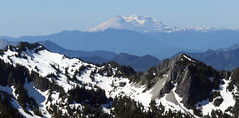 MtStHelensFromRainier1 (Aubrey Sun) Tags: park camp saint st volcano washington mt mount national rainier cascades helens wa muir