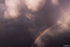 Mammatus Clouds and Rainbow (AstroGuiGeek) Tags: france clouds cloudy mamma thunderstorm nuages orage t3i mto mammatus nuageux 600d canonphotography orageux cloudsstormssunsetssunrises eos600d canoneos600d rebelt3i astroguigeek