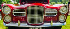 Facel Vega face (GmanViz) Tags: color detail car nikon automobile headlights bumper chrome 1958 grille facelvega hk500 gmanviz d7000