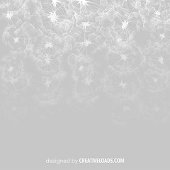 Vector Dandelions (creativeloads.com) Tags: flowers summer wallpaper white abstract color art texture nature floral monochrome sign illustration dark season botanical design sketch flora pattern graphic natural drawing background border seasonal gray dandelion textile backdrop delicate vector seamless