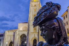 Almas de Bronce IX- La Regenta (jcfasero) Tags: oviedo bronce bronze asturias espaa spain outdoor street sphotography sony a6000 regenta catedral cathedral