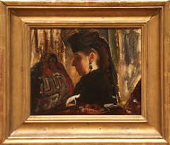 Edgar Degas - Mademoiselle Marie Dihau 1867-68 (ahisgett) Tags: new york art museum met metropolitian