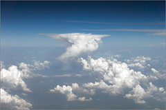 Adriatic CB (mikeyp2000) Tags: storm weather clouds skyscape aerial thunderstorm thunder cloudscape cumulonimbus