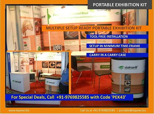 #portable #exhibition #stand.. Exclusive #exhibitionstand solution...mail at portable@tejaswi.biz