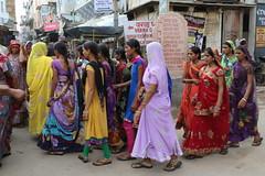 along the streets of Pushkar (raffaele pagani) Tags: india lake canon pushkar rajasthan ghat sacredwater sacredlake