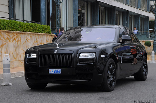 Murdered Out Rolls Royce Ghost