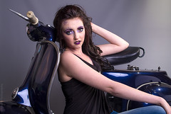 Studio Day (Manadh) Tags: studio model sheffield may moped project365 139365 sheffieldphotographer manadh