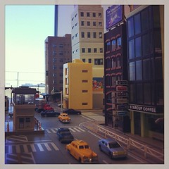 Shizuka break. http://n-rail.blogspot.com/ #japan #hobby #nscale #street (malcojojo) Tags: square squareformat earlybird iphoneography instagramapp uploaded:by=instagram