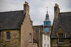 Clock Tower and Roof Tops (frank thompson photos) Tags: scotland unitedkingdom clocktower stirlingscotland