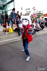 King Kazma (smellerbee) Tags: newzealand anime nerd comics toys media geek manga culture auckland nz convention scifi armageddon collectables cartoons 2012 asbshowgrounds