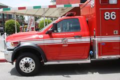 Los Angeles Fire Dept. (twm1340) Tags: fire lafd ambulance dodge ram ems emt