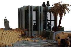 Deception (✠Andreas) Tags: lego military apc thepurge legodiorama legoapoc desertapoc thepurgeusa apocdiorama legodamagedroad