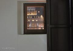 the window (Luigi Coccia Photography) Tags: italy rome landscapes vaticano cupola papa francesco stpetersbasilica basilicadisanpietro benedetto cupolone giovannipaolo notturnoromamor