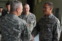 NGB Chief visits 192nd Fighter Wing (Virginia Guard Public Affairs) Tags: virginia unitedstatesofamerica langleyairforcebase virginianationalguard 192ndfighterwing chiefofthenationalguardbureau