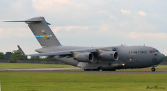 C17A Globemaster II 01-0186 (birrlad) Tags: ireland dublin usa sunlight up airplane us airport force taxi aircraft aviation military air airplanes line ii reach globemaster takeoff runway airliner freighter c17a 010186