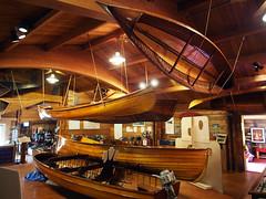 Muskoka Lakes Museum (pic_snapper) Tags: canada history museum canoe muskoka dippy portcarling