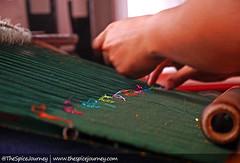 Menenun Ulos (The Spice Journey) Tags: ulos sumatrautara tarutung tapanuliutara thespicejourney colorfulindonesia