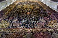 Ardabil Carpet, view down