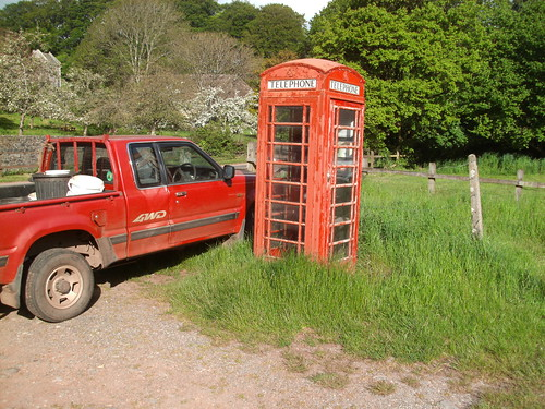 Telephone Box, Compton, Nr Paignton, Devon
