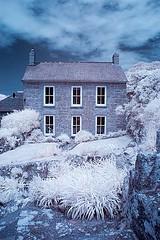 House (barrycross) Tags: summer house monochrome parish mono cornwall farm cottage infrared southcoast porthcurno porthgwarra westpenwith minack porthchapel 2013 stleven wwwbarrycrossphotographycom