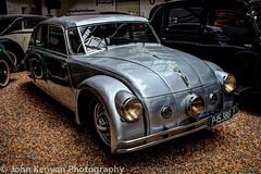 Tatra 77a - 1937 (johnkenyonphotography@gmail.com) Tags: cars technology prague bikes trains planes czechrepublic automobiles technicalmuseum