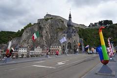 Dinant Pont sur la Meuse (The Beer Monk & Railway Addict) Tags: belgium belgique belgie dinant meuse belgien collegiale