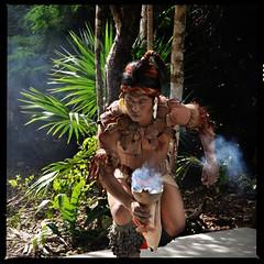 Mayan (Stella Blu) Tags: people man mexico smoke squareformat caribbean thumbsup quintanaroo gamewinner nikkor18200 stellablu challengeyouwinner nikond5000 gamex2winner cyunanimous herowinner ultraherowinner gamex3winner pregamesweepwinner pregameduelwinner mayancermony