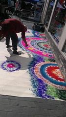 Rangoli (janakchauhan) Tags: streetart rangoli janak leicesterbelgravemela