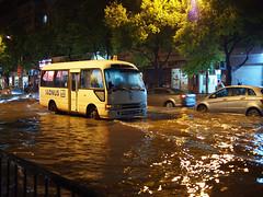 P9130844 (Feeder Wang) Tags: china lumix shanghai g olympus micro 上海 asph 43 omd 中國 街拍 淹水 雨景 em5 20mmf17