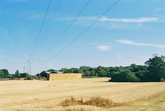 > (Headcrabs) Tags: film field st 35mm power photos good side country cable stack line cant take helens hay bypass rainford billinge raindford