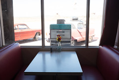 Take a seat in time. (Dan Hiris) Tags: arizona vintage cool cent diner 66 gas route 25 uncool cool2 uncool2 uncool3 uncool4 uncool5 uncool6 uncool7