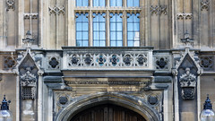Palace of Westminster, entrance detail