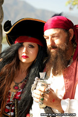 Rose Red-Rum (Me) & Oderlesseye [2013_05_18] (Black_Glitter) Tags: ocean life california ca trip original friends red sea people woman lake holiday man black guy beach me girl hat fashion rose lady female hair photography gold coast pier boat losangeles costume outfit nikon long photographer treasure pirates chest jewelry dude chick booty shore pirate captain ren faire lip stick caribbean lipstick bandana villain matey renaissance pleasure wench irwindale internationaltalklikeapirateday pirateslife oderlesseye roseredrum