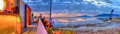 Atardecer en el chiringuito Le Club 7, Tarifa (Chodaboy) Tags: espaa sun luz sol beach strand canon atardecer photo spain europa european mare afternoon sunsets playa andalucia arena paseo 1d panoramica cadiz pasear atardeceres andalusia plage gaspar vacaciones spiaggia hdr playas chiringuito puestasdesol tarifa andalusian lateafternoon kust panormica loslances markiii photomatix canon1d panoramicphoto europeanbeach chodaboy plaj  playadeloslances atardecerplaya fotopanoramica atardecerenlaplaya canonistas atardecerentarifa playasdetarifa playatarifa playastarifa playatarifacadiz vacacionesentarifa vacacionestarifa panormicahdr playasdeeuropa atardecertarifa vacacionesatarifa chiringuitoplaya chiringuitotarifa atardecerestarifa atardecerenloslancestarifa leclub7tarifa chiringuitoleclub7tarifa leclub7 vision:night=054 leclud7 chiringuitoleclub7 leclub7playa atardeceresplaya