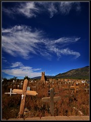 Taos (Geo_grafics) Tags: city blue wild vacation panorama usa newmexico art graveyard america photo nikon stitch gimp photograph majestic anything photograghy twothumbsup 15challengeswinner challengegamewinner vertorama fotocompetition fotocompetitionbronze agcgwinner favescontestsweep favescontesttopseed favescontestfavored vegasbnr
