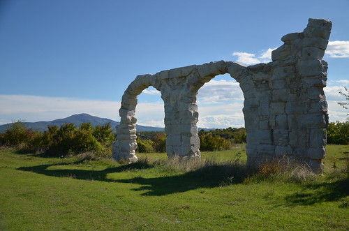 The arches of the headquarters (praetorium) of the legionary camp, Burnum legionary camp, Dalmatia