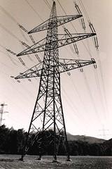 2013-10-27-18-03-50 (2blaikwater) Tags: blackandwhite bw film analog 35mm minolta minoltax700 delta pylon 400 electricity mast ilford ilforddelta400 strom x700 delta400 strommast hochspannungsmast
