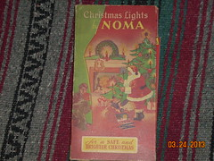 1947 Noma c6 series set in a Book style box (brown_dan72) Tags: christmas lights book box style ge c6 noma