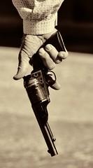 Trigger Finger (Trudy -) Tags: sepia cowboy western