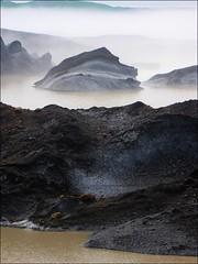 Misty glacier... (mau_tweety) Tags: mist ice water fog iceland glacier nebbia acqua ghiaccio ghiacciaio austurland svnafell