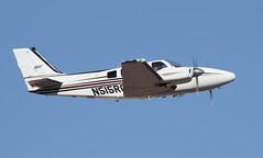 Raytheon 58 Baron N515RG (ChrisK48) Tags: airplane aircraft beechcraft beech baron dvt phoenixaz kdvt phoenixdeervalleyairport raytheon58 n515rg