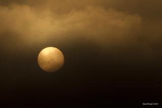 Sun through the fog