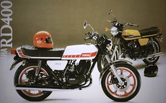 YAMAHA RD 400 (Rickster G) Tags: two classic vintage stroke 400 70s sales brochure spec rd 250 twinshock vjm
