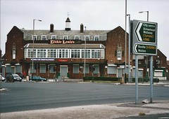 Dickie Lewis's (officially The Crown), East Lancs Road, Liverpool.  30 July 2005. (philipgmayer) Tags: liverpool pub demolished 1000 thecrown eastlancashireroad dickielewiss