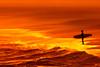 [2414] (Ojo Torpe) Tags: sunset beach uruguay atardecer surf surfer playa maldonado puntadeleste bikinibeach playabikini
