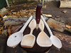 selection of Birch spoons. (fishfish_01) Tags: wood wooden carved folkart greenwood spoon carving carve birch woodenspoon silverbirch bushcraft