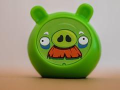Angry Birds - Pig (Ciddi Biri) Tags: game toy pig oyuncak greenpig oyun domuz angrybirds