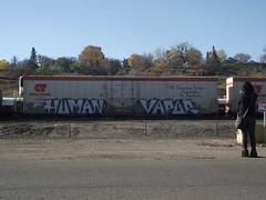 human vapor (Metal Fr8 Flicker) Tags: art colors cn train graffiti trains human worldwide cp vapor boxcars burners wholecars hoppers fr8 reefers grainers fr8s