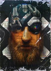 DrGonzo (v3rbo.com) Tags: portrait urban art face graffiti sketch mixedmedia fine your prints lettering written decadence slabs deacay