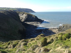 Aberporth coast from the footpath (jatrott59) Tags: sea wales walking scenery westwales walk footpath ceredigion cardiganbay aberporth
